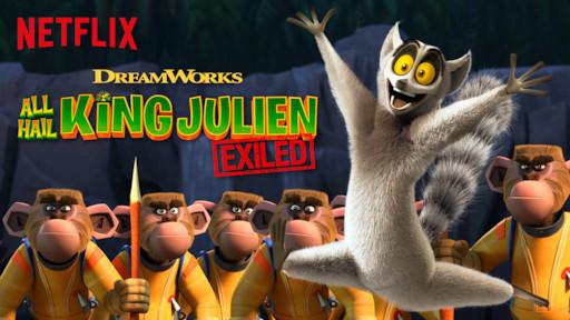 All Hail King Julien Exiled Netflix Official Site