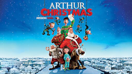 Arthur Christmas Poster.Arthur Christmas Netflix