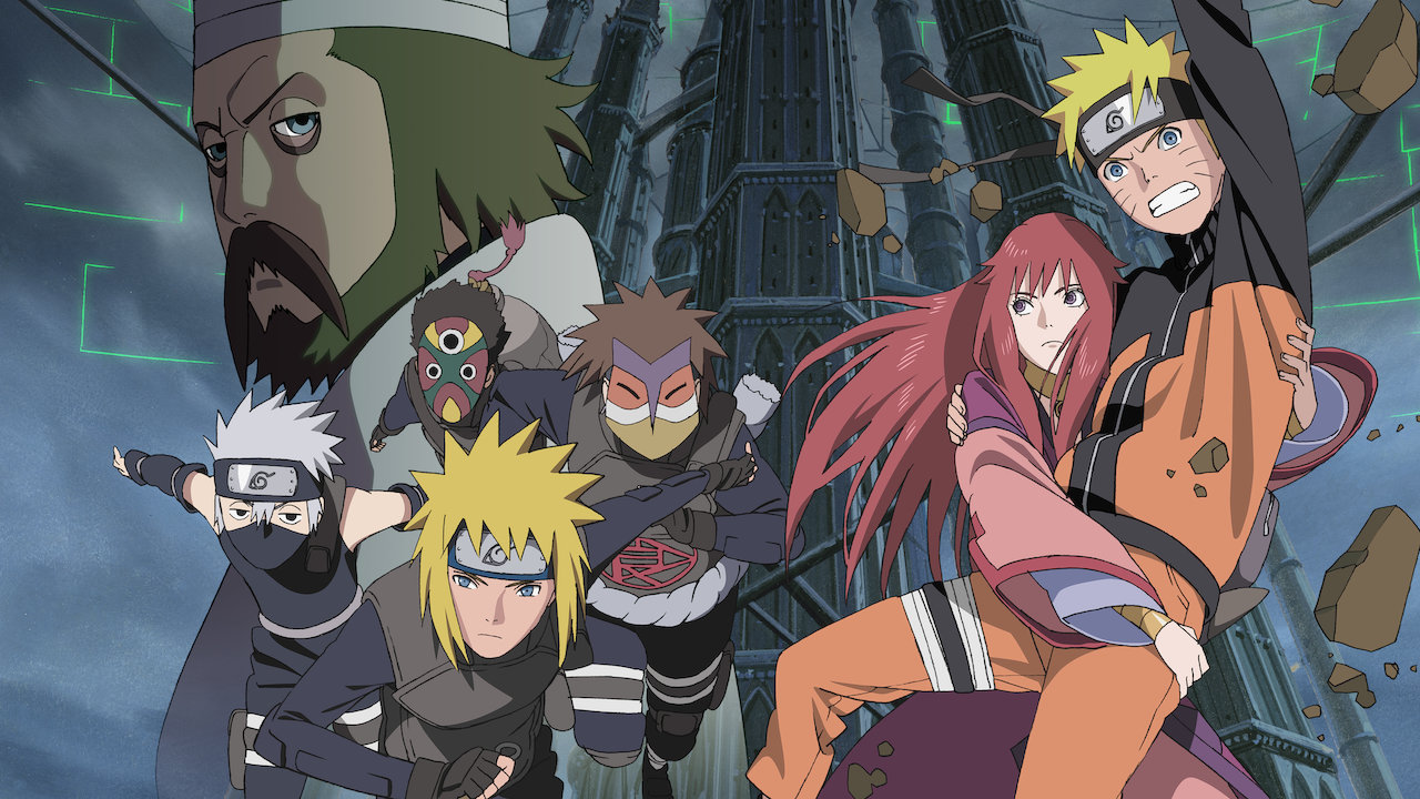Naruto Shippuden The Movie The Lost Tower Netflix