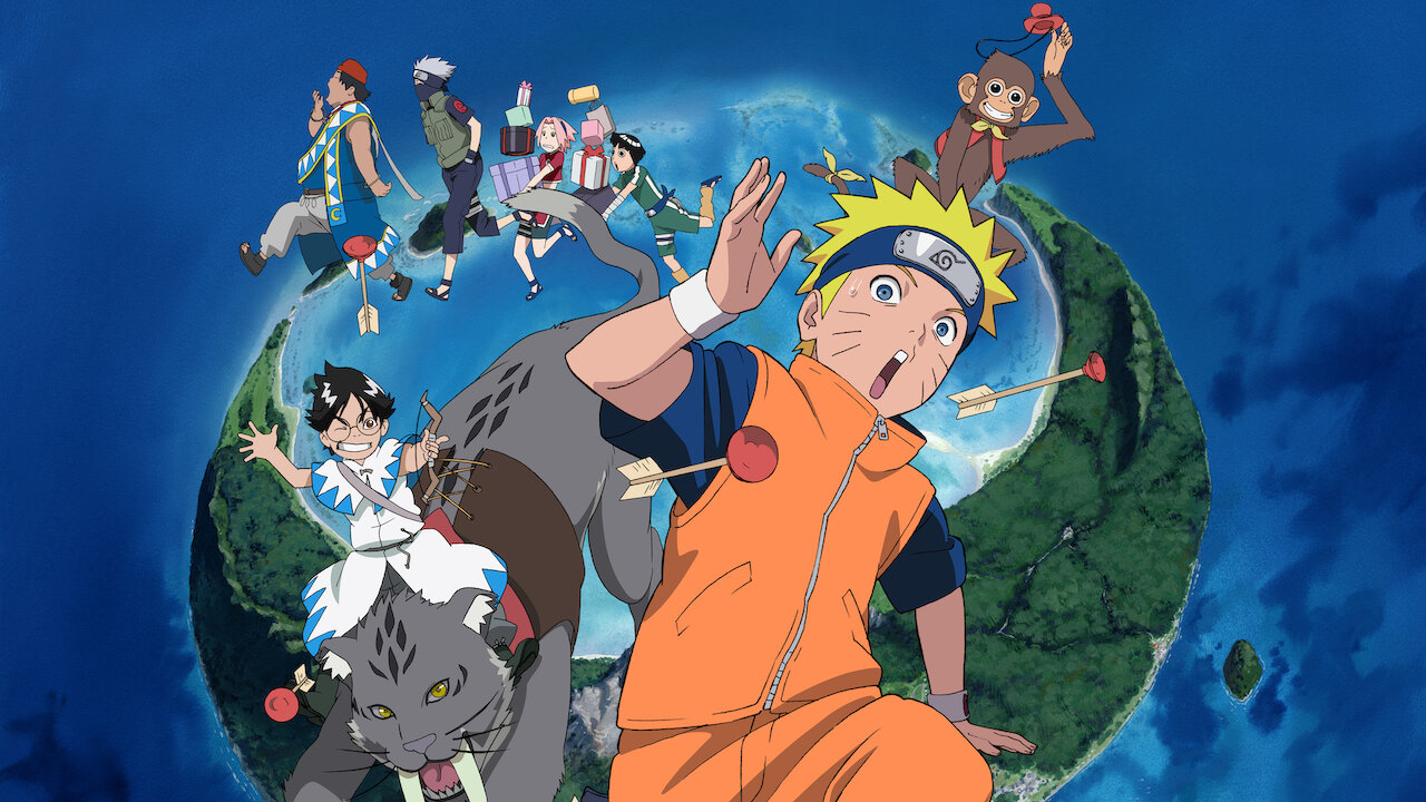 Naruto the Movie 3: Guardians of the Crescent Moon Kingdom | Netflix